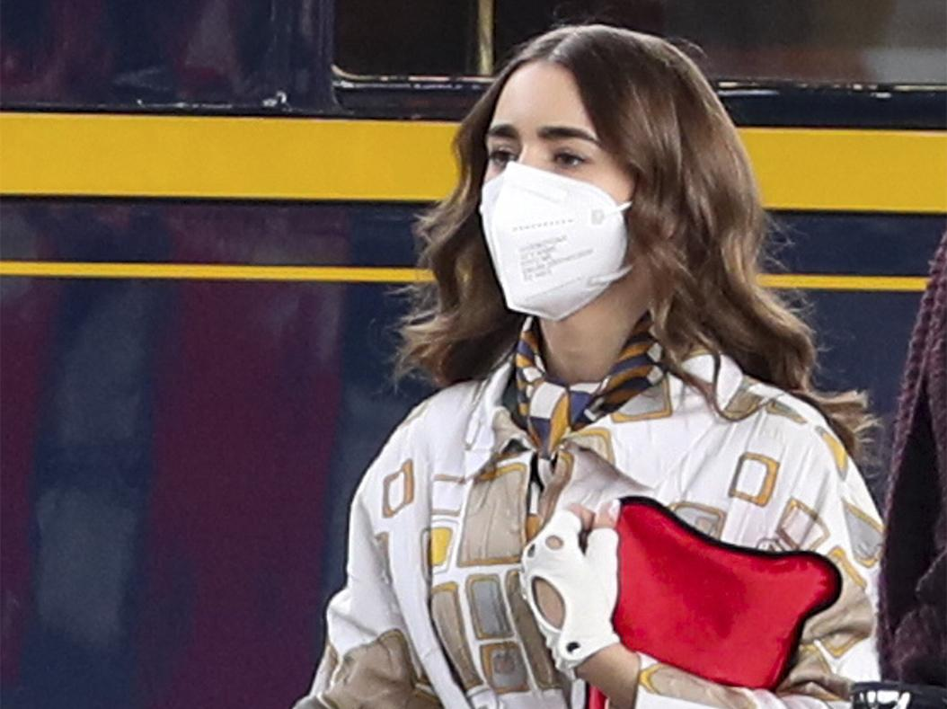 Lily Collins and her fashionista looks in the second season of 'Emily in Paris'