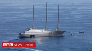 What is known about the superyacht that Jeff Bezos bought (and the hermetic industry of these mega-ships) - BBC News Mundo