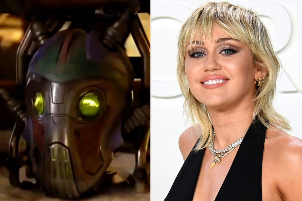 Miley Cyrus Mainframe