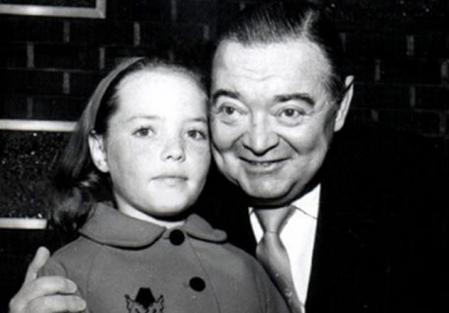 Peter Lorre with his daughter Catherine. He died when she was 11