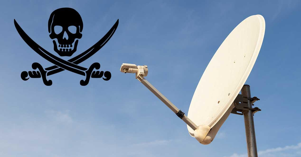Coup against satellite piracy in Spain with several detainees