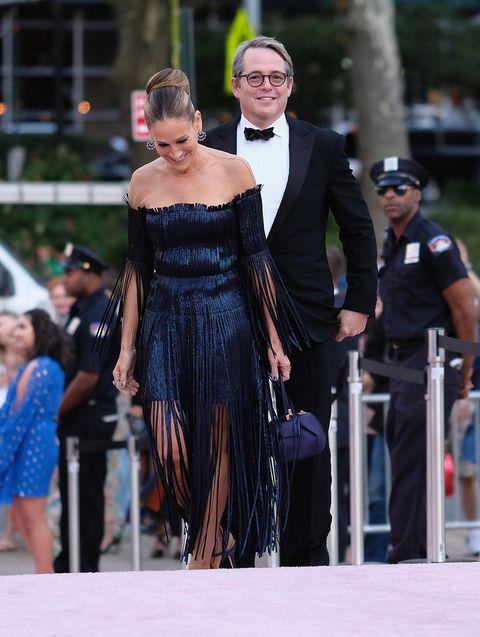 Sarah Jessica Parker and Matthew Broderick New York City Ballet's 2017 Fall Fashion Gala