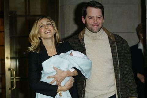 Sarah Jessica Parker And Matthew Broderick Welcome Son James Wilke