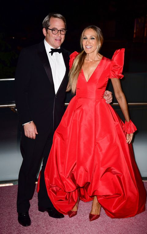 Sarah Jessica Parker and Matthew Broderick in 2018