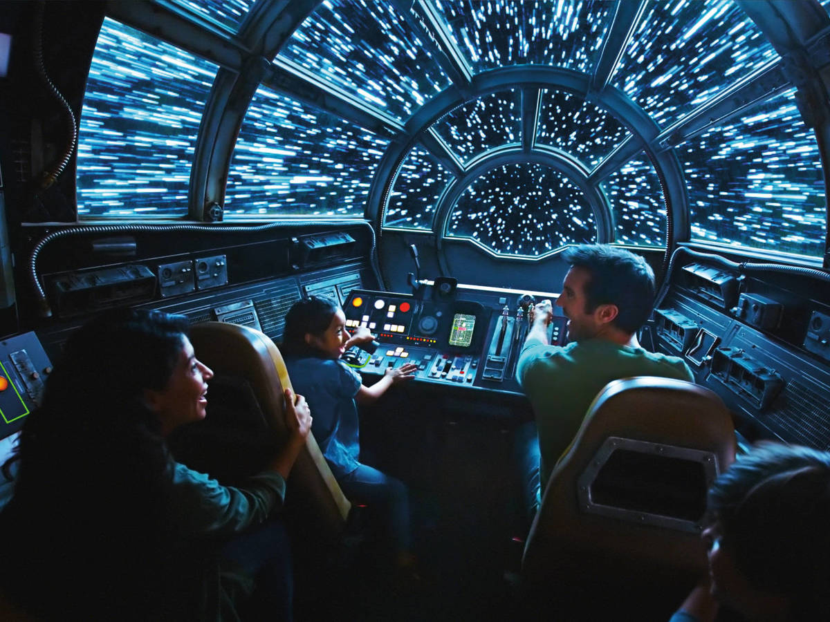 Photo: A navigation system like that of the Millennium Falcon. (Disney Parks)