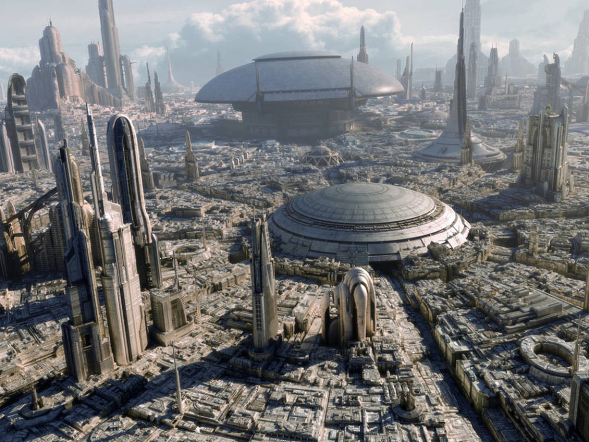 Photo: The 'metaverse' will be able to host infinite impossible worlds, like a persistent version of 'Star Wars'. (Lucasfilm)