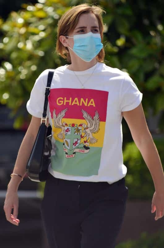 Emma Watson is shopping for furniture, will she be thinking about moving soon?