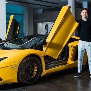 Video: Paulo Dybala gave himself a yellow Lamborghini to celebrate his 100th goal in Italy