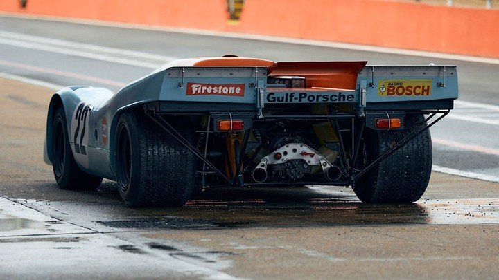 The auction for this Porsche 917K will be held in August, in Monterey, California. Photo: Phil Norton - RM Sotheby's