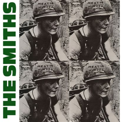 The Smiths' 'Meat is Murder' cover featuring Private Michael Wynn in Vietnam. According to him, no one told him that he was going to appear on the cover of an album.
