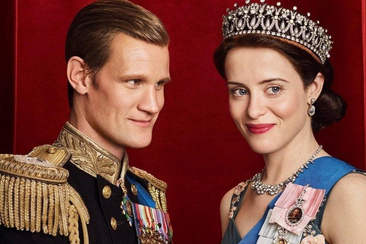 """Matt Smith, as the Duke of Edinburgh in the first two seasons of """"The Crown"""". Photo Clarín Archive"""