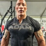 Dwayne Johnson publishes a new photo characterized as 'Black Adam'