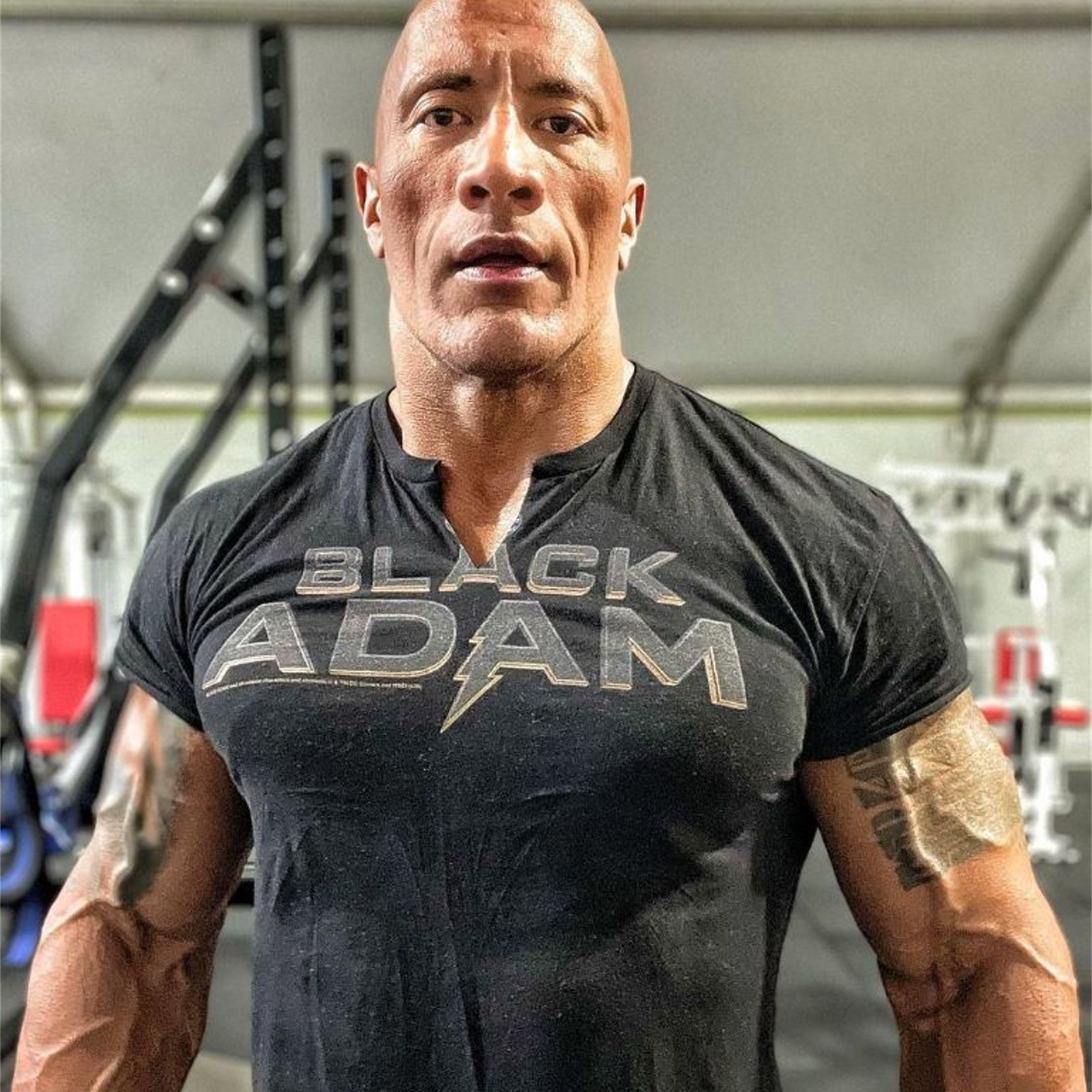 1621908016 Dwayne Johnson publishes a new photo characterized as Black Adam
