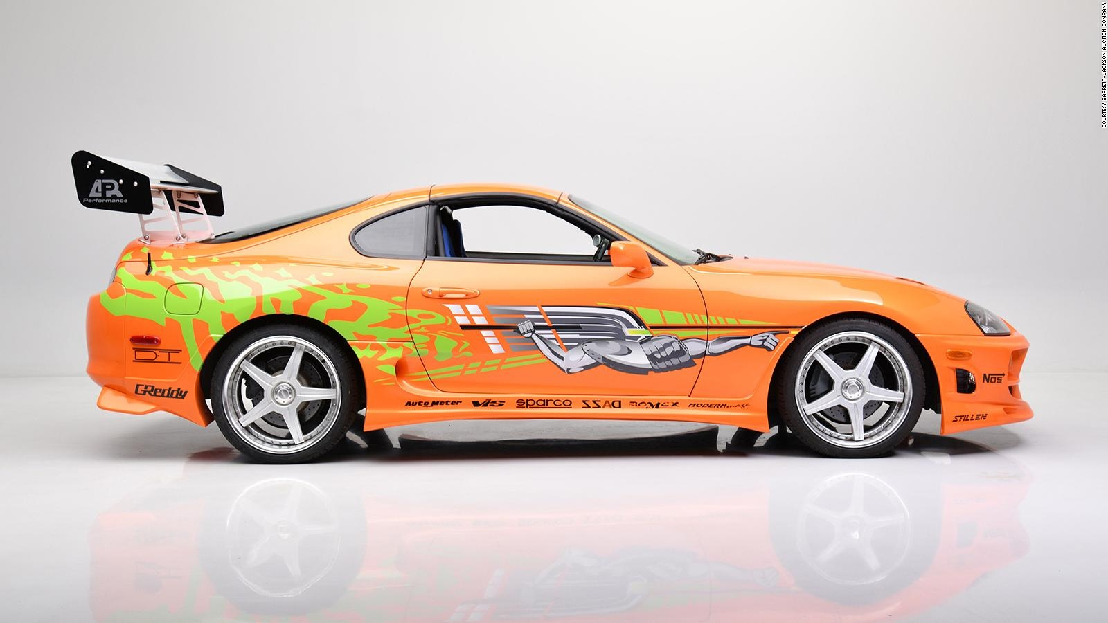 1621909919 Car Paul Walker drove in Fast and Furious up for