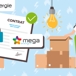 Procedure for moving your Mega Energy contract
