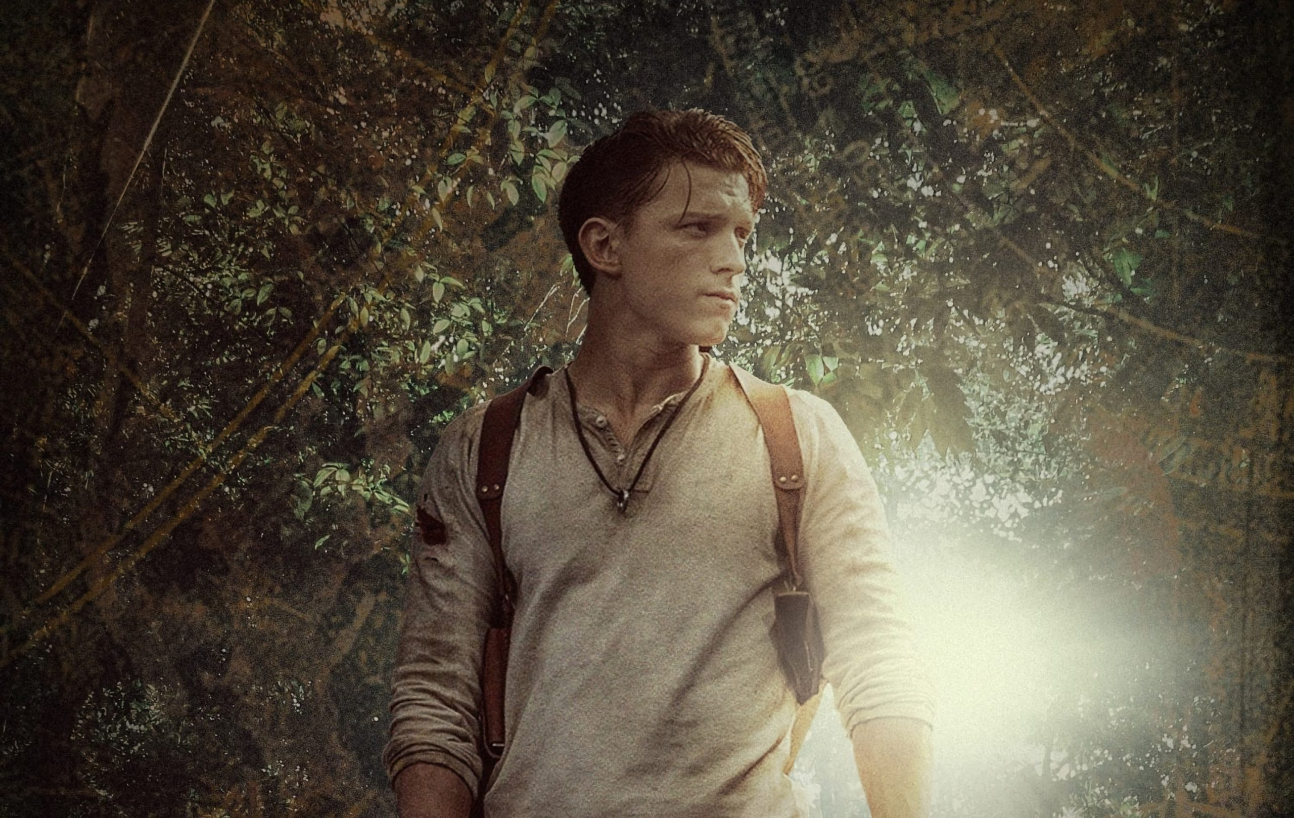 'Uncharted': new image with Tom Holland and Mark Wahlberg