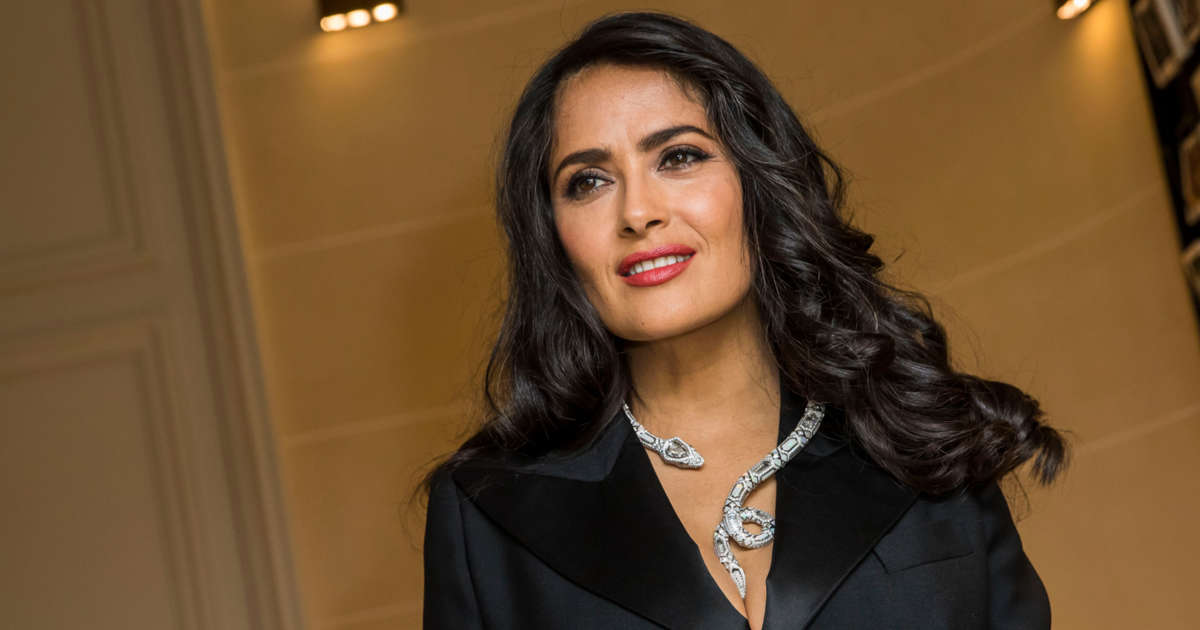 Salma Hayek's tough battle against Covid 19: 'I'd rather die at home'