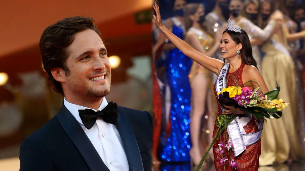 Diego Boneta celebrated the Mexican triumph in the Miss Universe as a triumph of the national team
