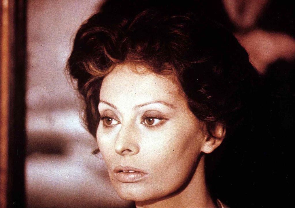 SOPHIA LOREN, 1973.   Photo: Getty Images
