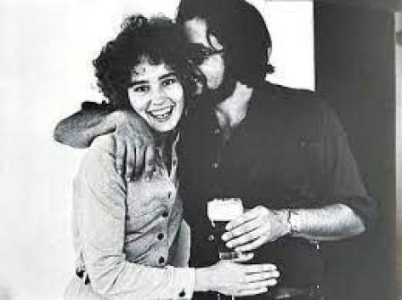 Jessica Lange and Paco Grande in their happy times
