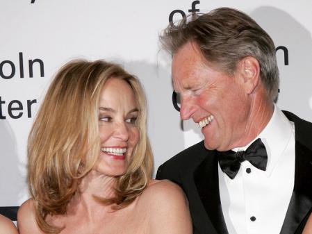 Lange and Sam Shepard spent 22 years together