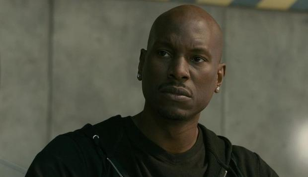 Tyrese Gibson plays Roman Pearce in 'Fast
