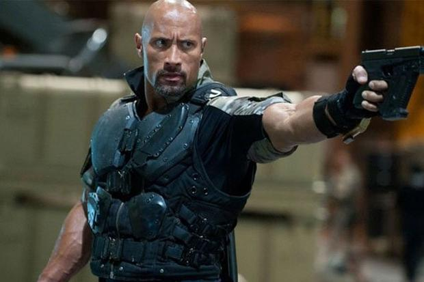 """Dwayne Johnson joined the main cast as Officer Luke Hobbs in """"Fast Five"""" (Photo: Universal Pictures)"""