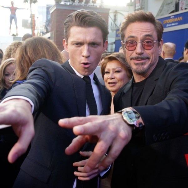 Tom Holland did the casting with Robert Downey Jr. Photo: (Marvel)