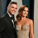 Jessica Alba began to cry when her daughter surprised her in an intimate moment with her husband Cash Warren