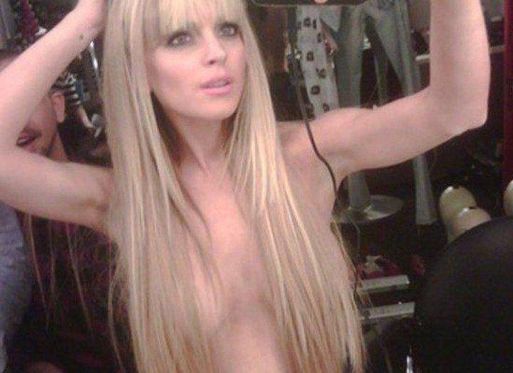 Provocative. Lindsay Lohan, for 2015. Photo: Twitter Lindsay Lohan.