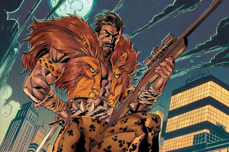They didn't see it coming! Aaron Taylor-Johnson to play Kraven the Hunter in live-action kraven-the-hunter-movie-sony-screenwriter-confirmed
