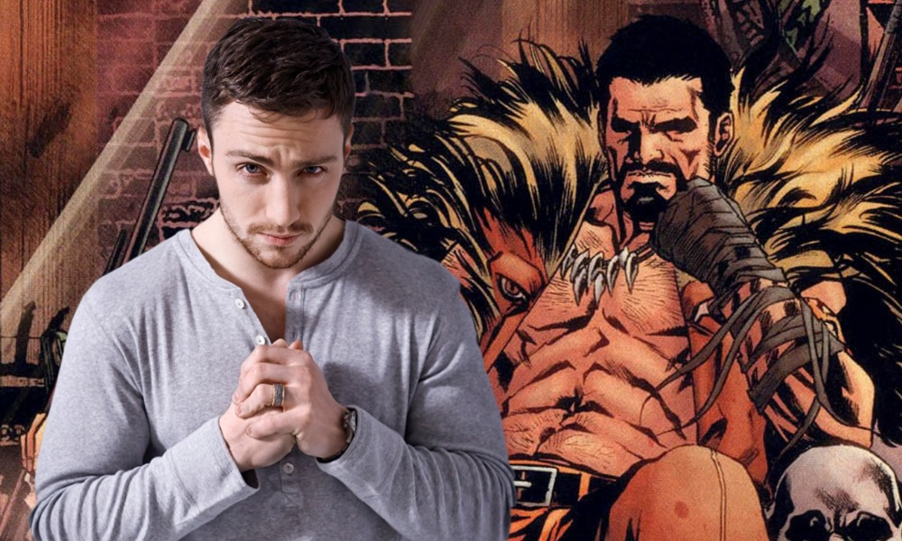 They didn't see it coming! Aaron Taylor-Johnson to play Kraven the Hunter in live-action