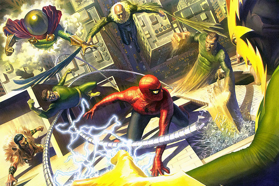 We could see The Sinister Six on tape