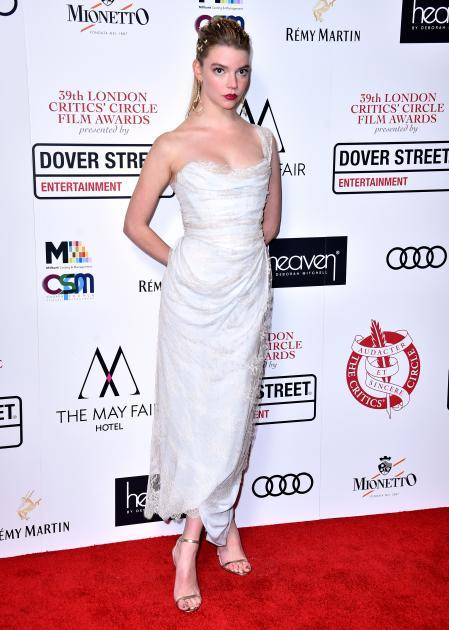 Anya Taylor Joy at the London Critics' Circle Film Awards