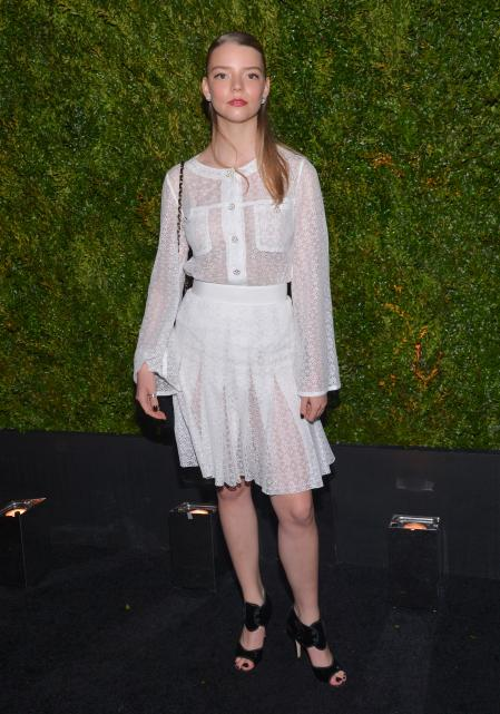 Anya Taylor Joy at the 10th CHANEL Tribeca Film Festival Artists Dinner in 2015