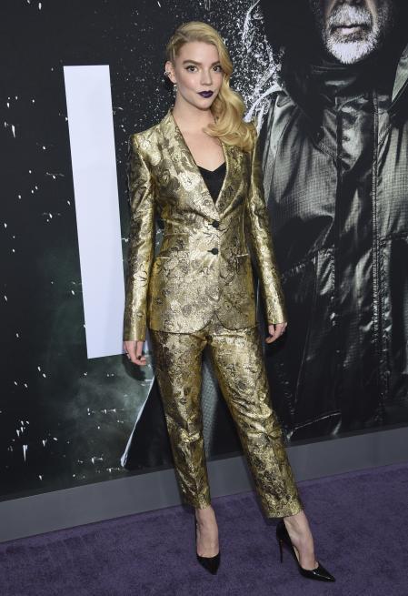 Anya Taylor Joy at the premiere of