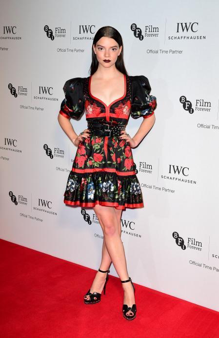 Anya Taylor Joy at the IWC Gala in London