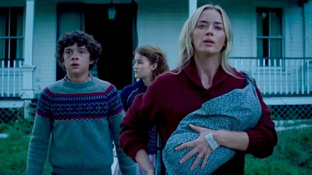"""Along the """"A Quiet Place 2""""Both groups face numerous threats ranging from the film's inexplicable monsters to other survivors. (Photo: Paramount)"""