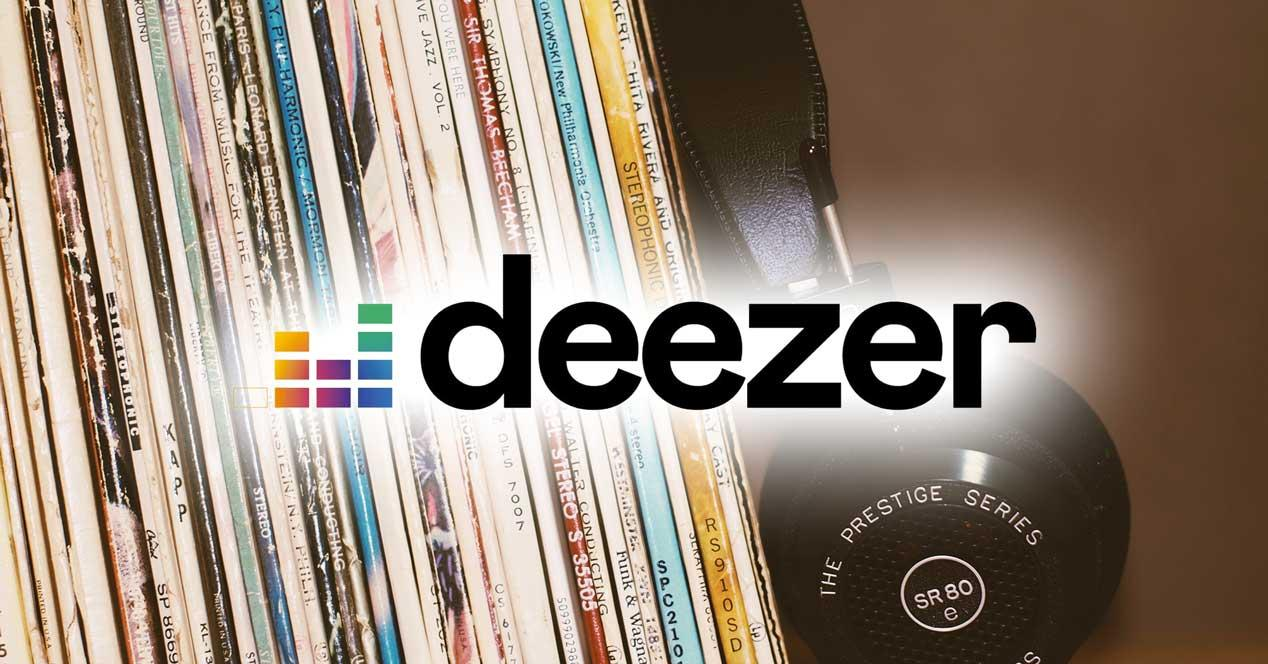 This is Deezer, the alternative to Spotify to listen to music