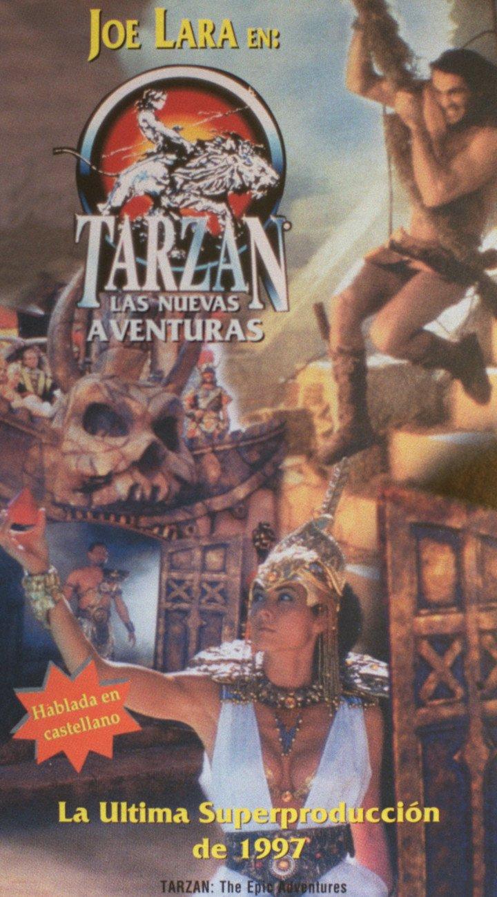 The Tarzan series, with Joe Lara on the cover. Photo file.