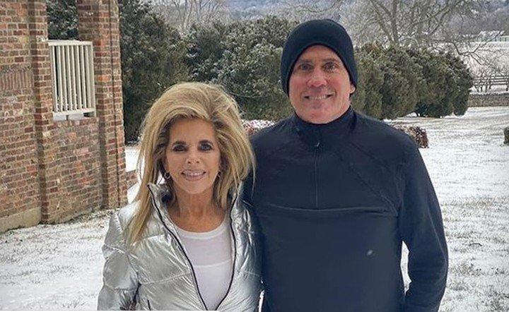 Joe Lara and his wife. Photo TMZ Online.