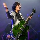 CARDIFF, WALES - AUGUST 24: Sharleen Eugene Spiteri of Texas performs at the Admiral main stage outside Cardiff city hall during Pride Cymru 2019 on August 24, 2019 in Cardiff, Wales. Pride Cymru aims to eliminate discrimination on the grounds of sexual orientation and gender and promote LGBT + equality and diversity within Wales. (Photo by Matthew Horwood / Getty Images)