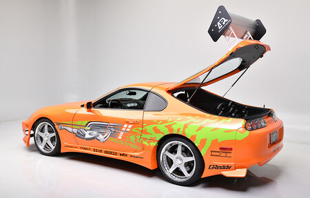 Paul Walker's Toyota Supra in 'the Fast and the Furious' up for auction