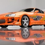 Cinema! Paul Walker's mythical Toyota Supra starring in 'the Fast and the Furious', up for auction