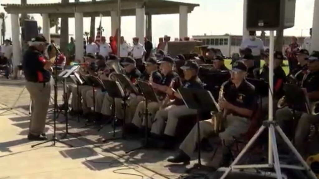 1622499950 Veterans Band pays tribute to the fallen on Memorial Day