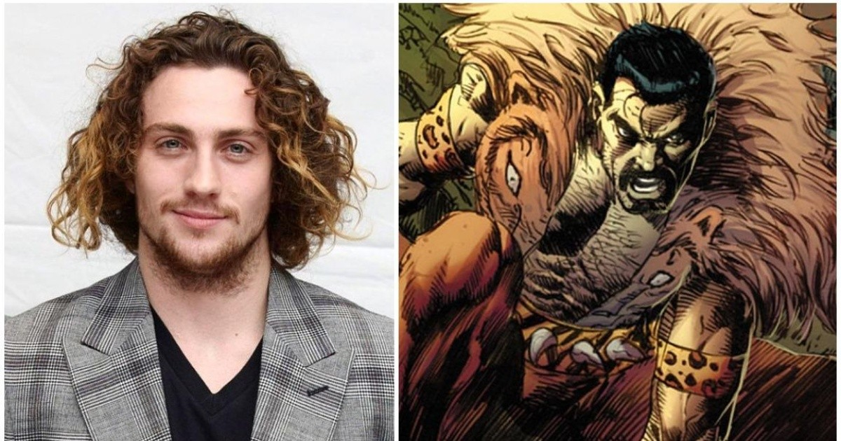 Aaron Taylor Johnson to star in Spider Man spinoff