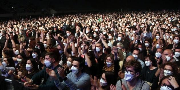 Antigen tests and FFP2 masks would allow for safe concerts
