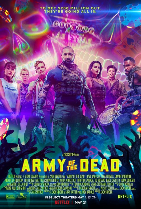 Army of the Dead actress never met the cast it