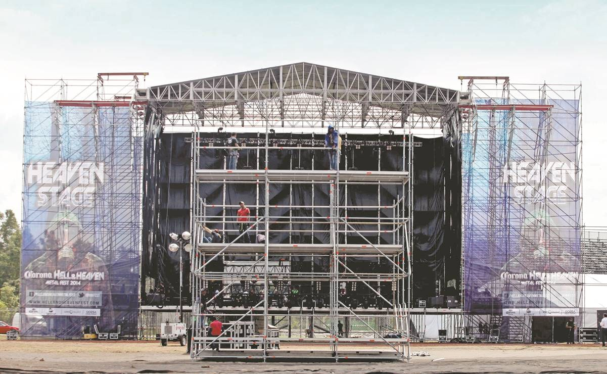Artists happy for opening concerts but ask for calm