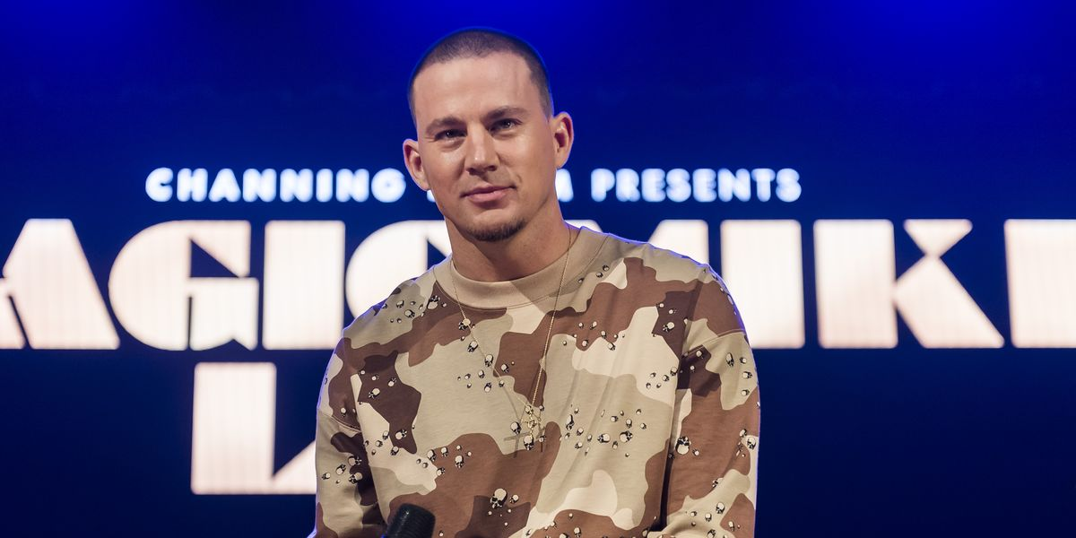 Channing Tatum, completely naked to show off a perfect six pack